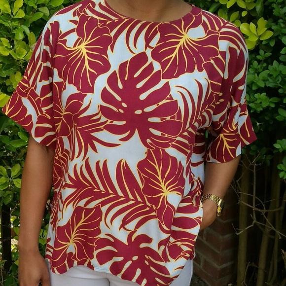 f71f55b5 H&M Tops | Hm Hawaiian Shirt | Poshmark